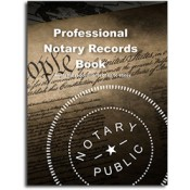 Professional Notary Records Book™