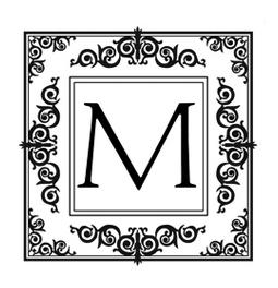 Designer Monogram Stamps