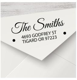 Script Return Address Stamps