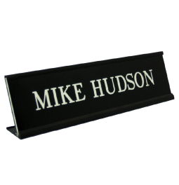 Desk Name Plates with Holders