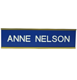 Wall Name Plates with Holders