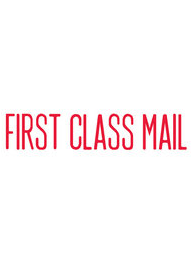 1129 - Xstamper #1129 FIRST CLASS MAIL Stock Stamp