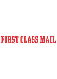 1149 - Xstamper #1149 FIRST CLASS MAIL Stock Stamp