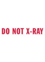 1571 - Xstamper #1571 DO NOT X-RAY Stock Stamp