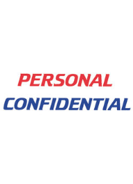 #2029 Xstamper Personal Confidential Stock Stamp