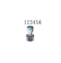 40207 - Traditional Number Stamp (6-Band, Size 3) #40207