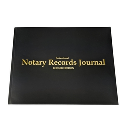 45500 - Deluxe Notary Journal - 141 page book