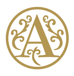 "Letter ""A"" wax embossing seal.  Stock kit comes with genuine wood handle, stock letter die and high quality Scottish sealing wax stick."