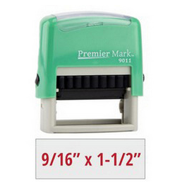 premier mark self inking stamps