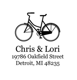 DSS-0025 - Bicycle Return Address Stamp