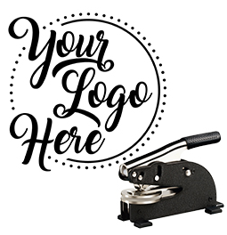 Emboss your company or personal logo on paper with our custom logo desk embossing seal.