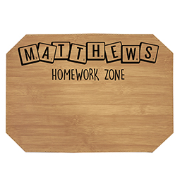 PLACEMAT-HOMEWORK-ZONE - Homework Zone Learning Mat