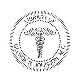 Medical Caduceus Logo Embossing Seal for the medical professional in your life!