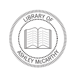 Library of logo embossing seal is great for your personal library.