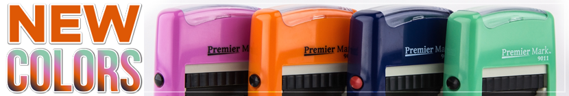 Color Series Self-Inking Stamps