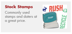 Stock Stamps and Supplies