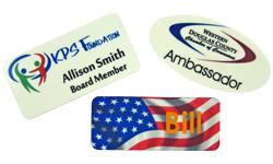 Full Color / Logo Name Badges
