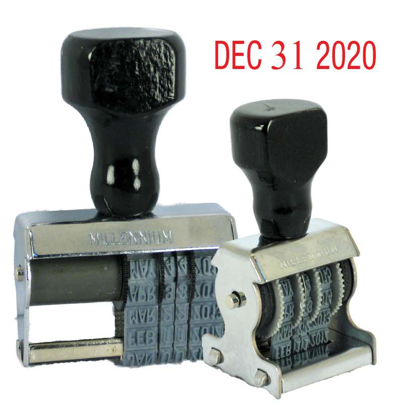 Traditional Style Rubber Daters