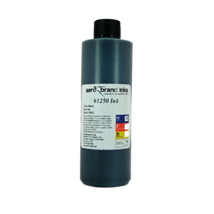 AERO1250 - #1250 Aero Marking Ink - 8 oz Black or White Ink
