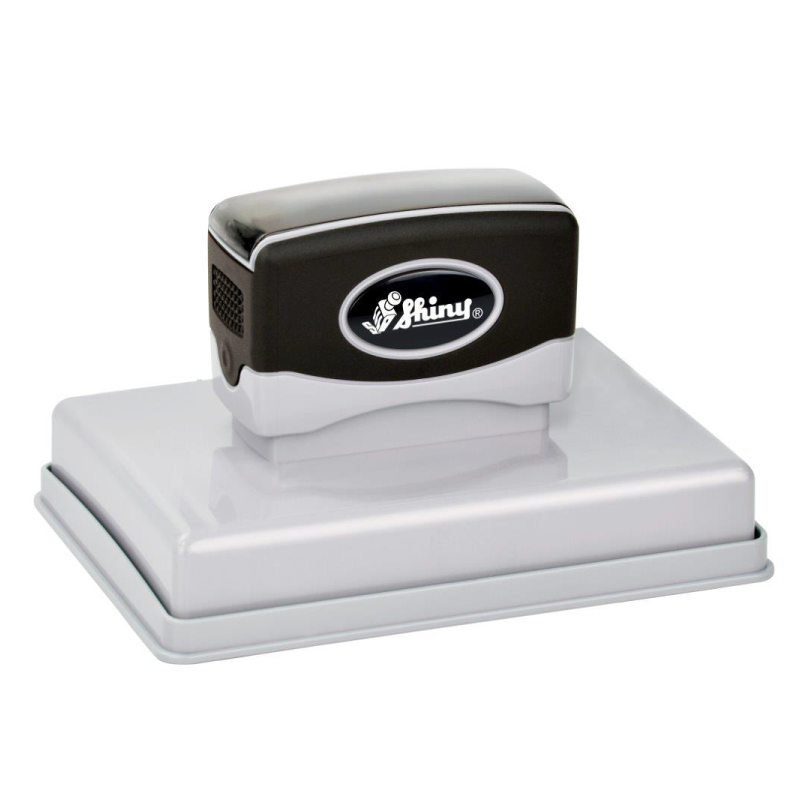 """EA-800 - EA-800 Premier Mark Pre-Inked Stamp (3-5/8"""" x 4-15/16"""") Largest Pre-Inked Stamp Available!"""