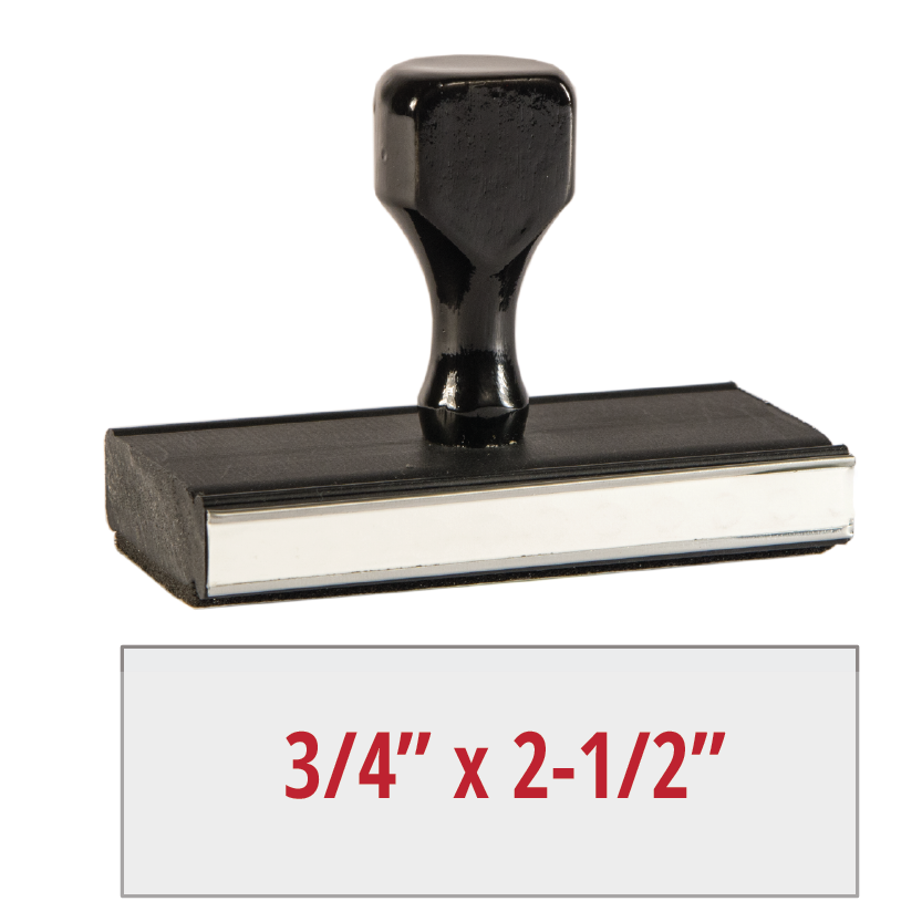 RS003 - Rubber Stamp (Medium)