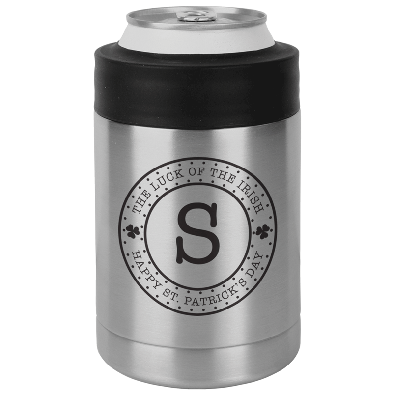 LUCKSSCAN - Luck of the Irish St. Patrick's Day Koozie - Stainless Steel