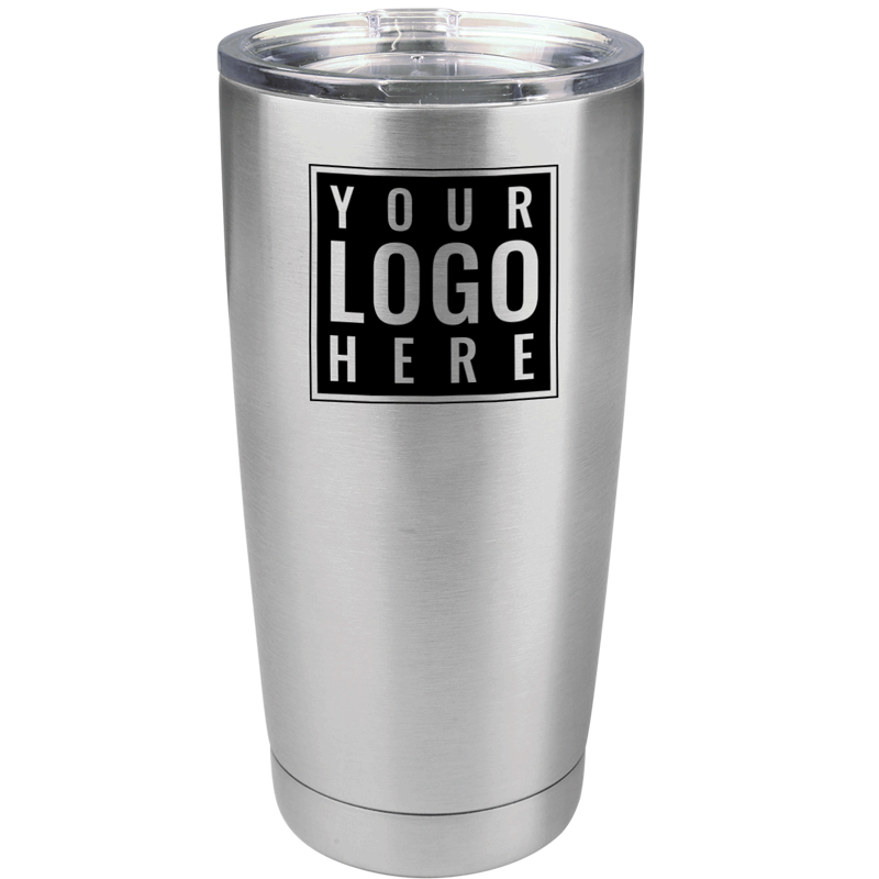 TUMBLER-CUSTOM - 30 oz or 20 oz Custom Stainless Steel Tumbler with Your Logo